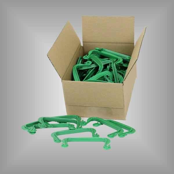Paketträger Kunststoff grün