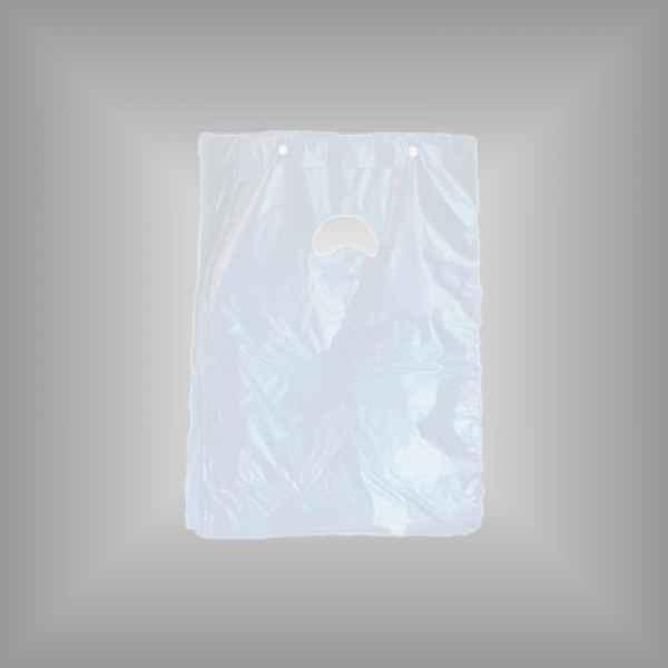 Plastiktüte mit Abreißleiste transparent