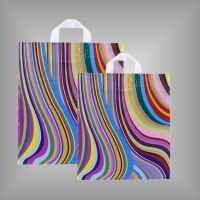 Plastiktüte mit Schlaufen Seventies
