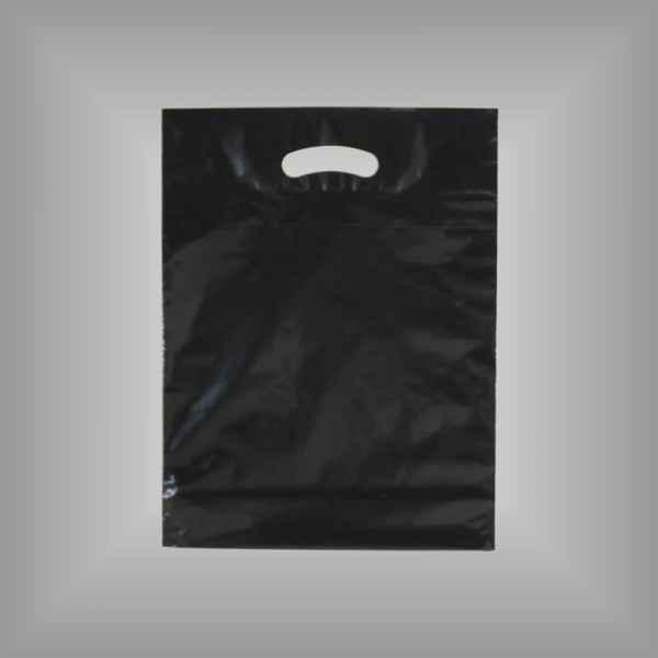 Plastiktüte schwarz 30x37x5cm