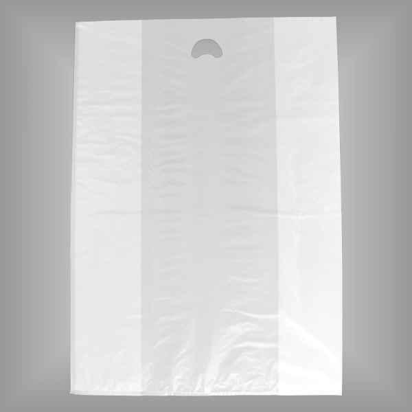 Plastiktüte Jumbo 60+30x85cm weiß